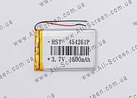 Аккумуляторная батарея для планшета Li-Polymer 3.7V, 1500mAh, 61*42*4мм, фото 1