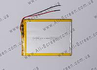 Аккумуляторная батарея для планшета Li-Polymer 3.7V, 4000mAh, 115*80*4мм, фото 1