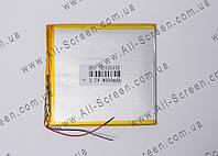 Аккумуляторная батарея для планшета Li-Polymer 3.7V, 8000mAh, 130*125*3мм, фото 1