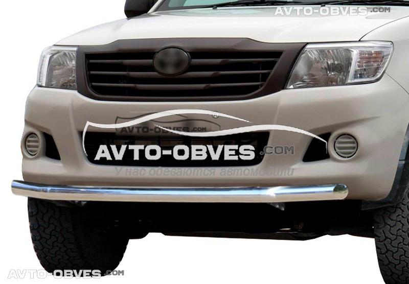 Защитная дуга одинарная Toyota Hilux 2012-2015
