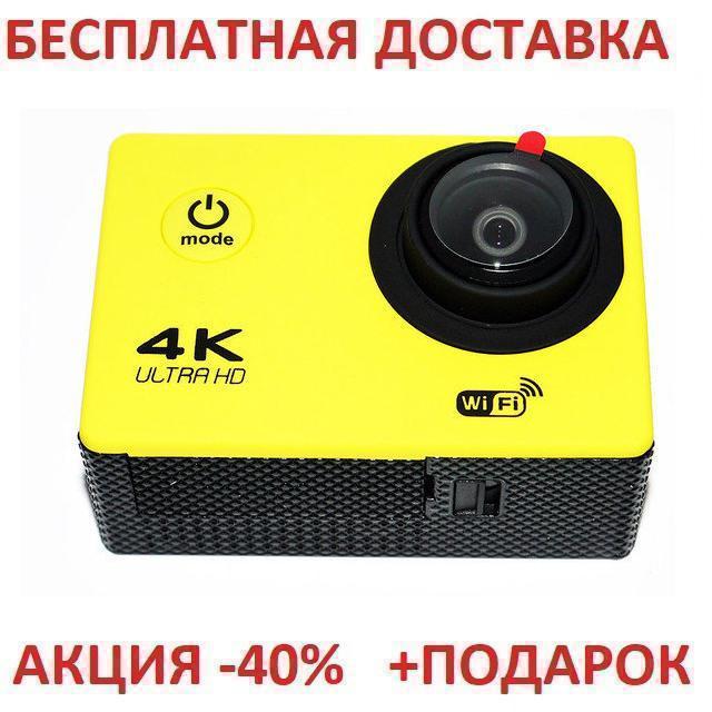 Action Camera F60B WiFi 4K 20 Экшн камера Ф60Б Вай Фай Оriginal size Видеокамера Go pro Action камеру