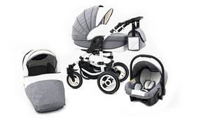 Многофункциональная детская коляска ZAGMA X7 3в1 ECO LEN