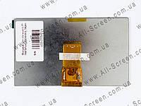 """Матрица для планшета 7"""" 164*97мм, 1024x600, 50pin, фото 1"""