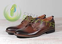 Кожаные мужские туфли Vivaro 615-15к 41,44p, фото 1