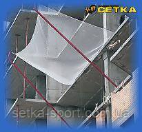 Капроновая Защитно-Улавливающая Сетка (полиамид Ø3,5мм, узловая) - 3,5 х 6 м (ячейка 50*50 мм)