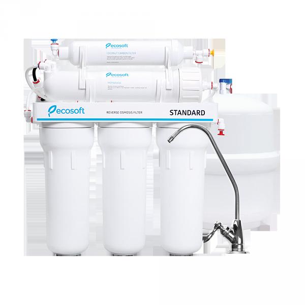 Фильтр для воды обратный осмос Ecosoft Standard MO5-50ECOSTD - WaterLife - системы очистки воды в Днепре