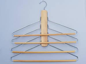 "Плечики вешалка металлическая ""лестница"", длина 40 см"