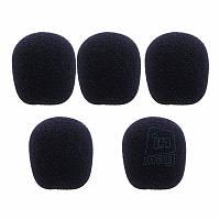 Ветрозащита для петличного микрофона (3 размера). 30 x 23 x 8мм