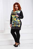 ДТ3843 Платье трапеция размер 50-54 , фото 2