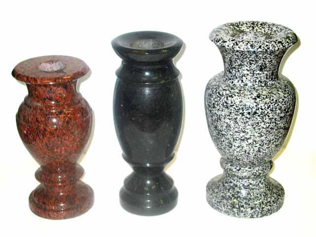 Производство гранитных ваз и изделий