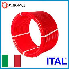 Труба для тёплого пола Ital-Therm PE-Rt 16x2 красная