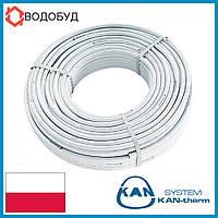 Труба для тёплого пола Kan-Therm 16x2 серая