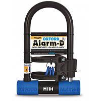 Oxford Alarm-D Midi (L253mm x W173mm x D14mm), Замок противоугонный с сигнализацией