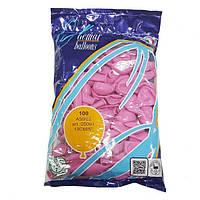 """Надувные шары розовые Gemar Balloons A50/06 (13 см/5"""", арт. 05061, упаковка 100 шт), фото 1"""