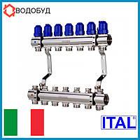 Коллектор для отопления ITAL 7 контуров