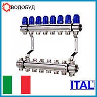 Коллектор для отопления ITAL 8 контуров