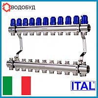 Коллектор для отопления ITAL 11 контуров