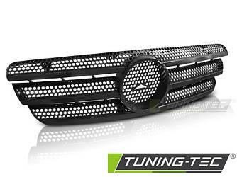 Решетка радиатора тюнинг Mercedes Benz ML W163 стиль AMG черная