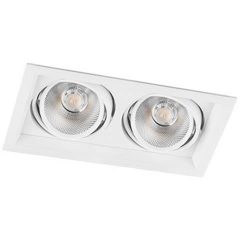 Светодиодный точечный светильник Feron AL202 2xCOB 20W Белый
