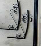 Козырек кованый разборной 1300*920 мм, фото 2