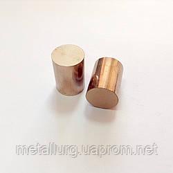Круг бронзографитовый диаметр 16 мм х 16 мм