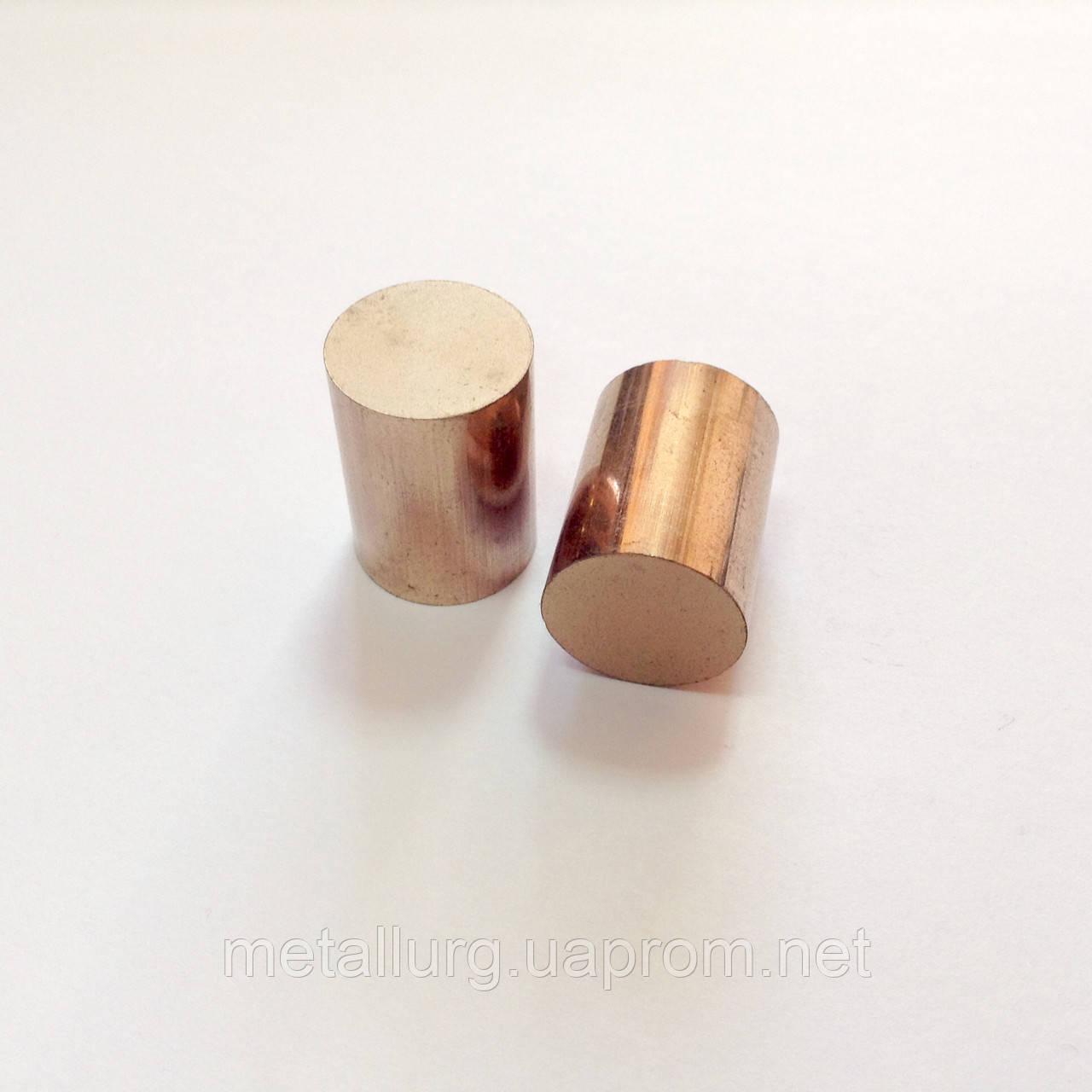 Круг бронзографитовый диаметр 16 мм х 20 мм - ООО НПФ «Металлург» в Харькове