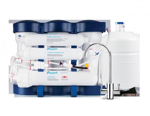Фильтр для воды обратный осмос Ecosoft P'URE