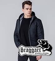 Braggart 1295   Ветровка весна-осень мужская черный, фото 1
