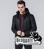 Braggart 7024 | Мужская ветровка черный, фото 1