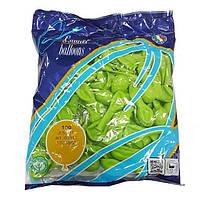 "Надувные шары салатовые Gemar Balloons A50/11 (13 см/5"", арт. 05111, упаковка 100 шт)"