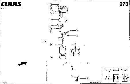 УПРАВЛЕНИЕ 3-D - CLAAS LEX 430-415