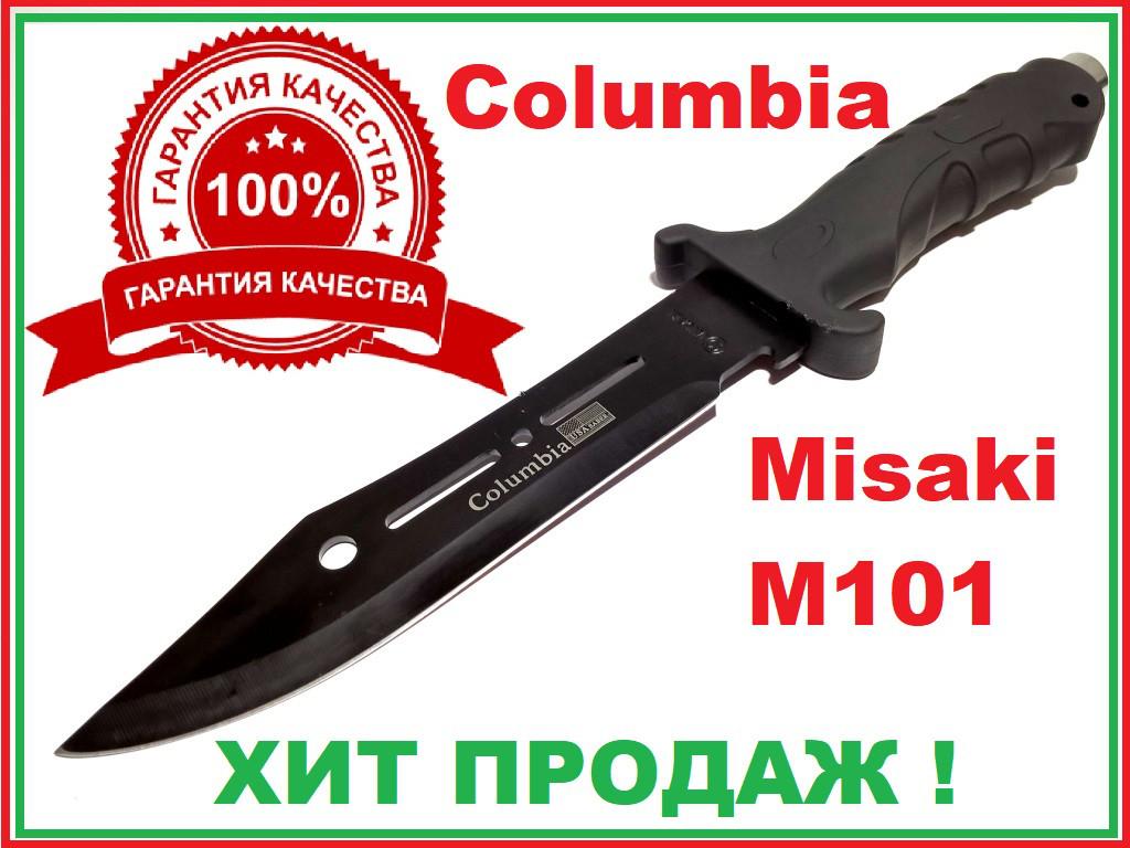 Нож охотничий в чехле фиксированный клинок мат Misaki M101