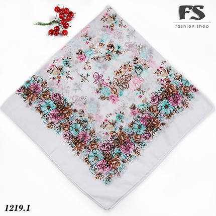 Летний батистовый платок Модница, фото 2