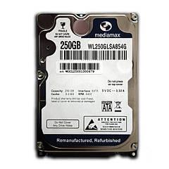 Винчестер для ноутбука 250GB Mediamax WL250GLSA854G