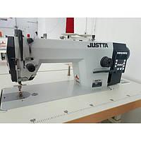 Прямострочная швейная промышленная машина с автоматикой ,обрезкой нити и встроенным сервомотором JT-R8