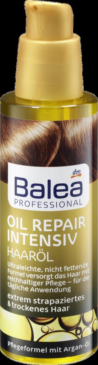 Восстанавливающее масло для волос Balea Professional Oil Repair Intensiv, 100 мл.