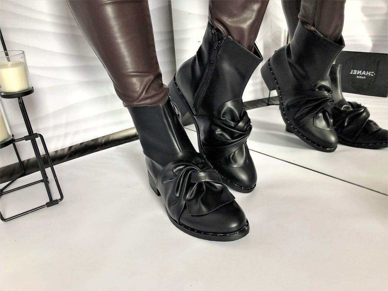 65ae581ca Женские демисезонные ботинки бант люкс копия,Турция. - *МОДНЫЙ BAZAAR*  Одежда и