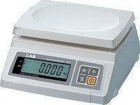 Весы электронные CAS серии SW торговые (фасовочные) 2 - 20 кг без стойки