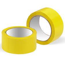 Скотч Жёлтый 24 мм ширина, 100 метров