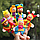 Набор плюшевых игрушек на пальчики 6 штук. Пальчиковый театр Королевство, фото 2