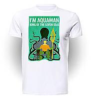 Футболка мужская размер L GeekLand Аквамен Aquaman King AM.01.004