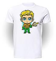 Футболка мужская размер L GeekLand Аквамен Aquaman Cartoon AM.01.003