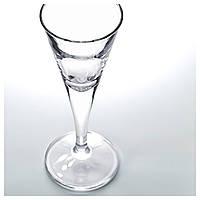 СВАЛЬК Рюмка, прозрачное стекло, 40 мл, 6 шт. 60015131 IKEA, ИКЕА, SVALKA