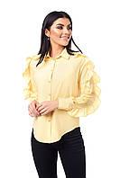 Яркая блуза с рюшами , фото 1
