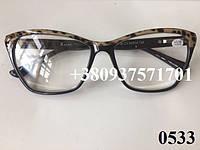 Очки для зрения, женские, бабочки. Модель  0533, фото 1