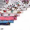 Батистовый платок Леопардовые полосы, фото 2