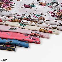 Батистовый платок Леопардовые полосы, фото 3