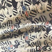 Ткань подкладочная Т190 принт, фото 1
