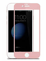 Защитное стекло для iPhone (айфон 6+/6s+)  6 Plus/6s plus 3D Pink