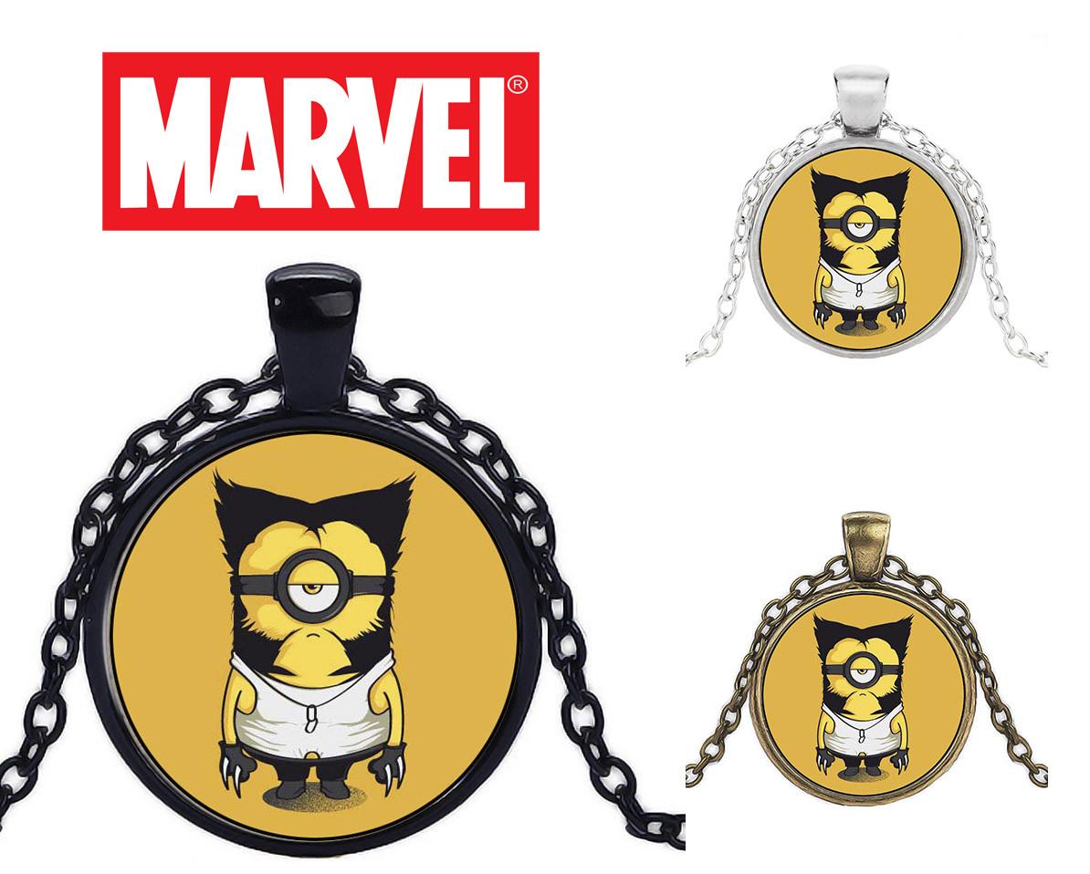 Кулон с изображением Миньона Росомахи Avengers Мстители